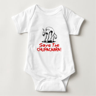 Save The Chupacabras! Baby Bodysuit