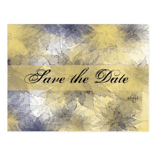 Save the Date All Purpose Save the Date Postcard
