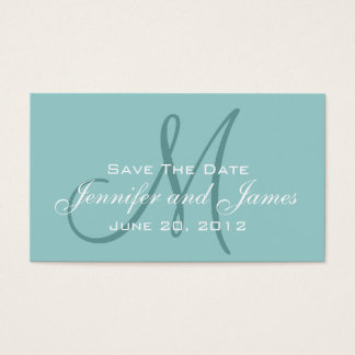 Save the Date and Wedding Website Card