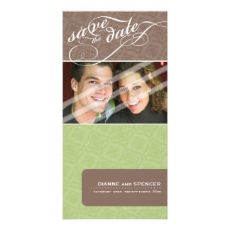 SAVE THE DATE ANNOUNCEMENT :: fancy text 12 Card