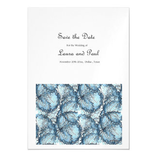 Save the Date Artistic Wedding Invitation