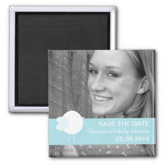 Save the Date Baby Shower Custom Photo Magnets