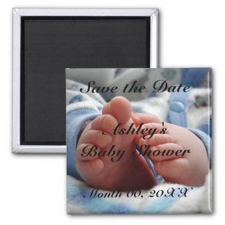 Save The Date Baby Shower Magnet