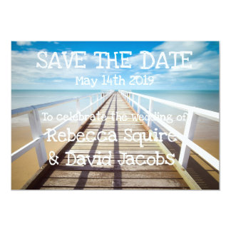 Save The Date | Beach Card