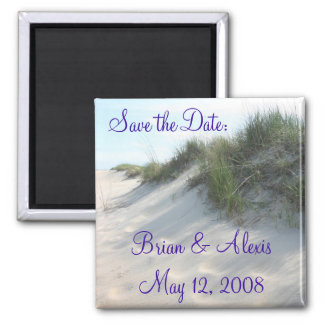Save the Date:, Brian & AlexisMay 12, 2008 Magnet