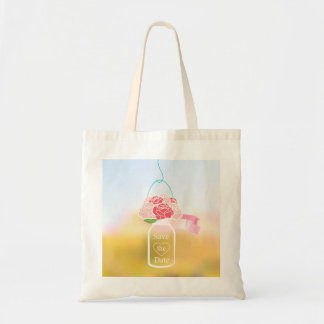 Save The Date Budget Tote Bag