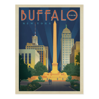 Save the Date - Buffalo, NY Postcard