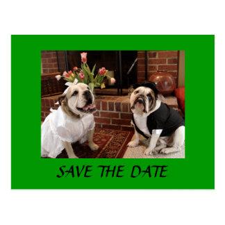 SAVE THE DATE Bulldogs Postcard