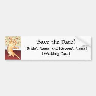 Save the Date! Bumper Sticker