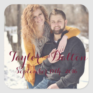 Save the Date Calendar Stickers