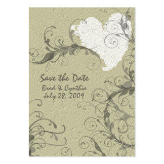 Save the Date Card Business Card Template