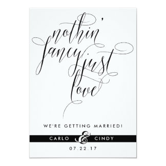 Save The Date Card | Elopement Announcement