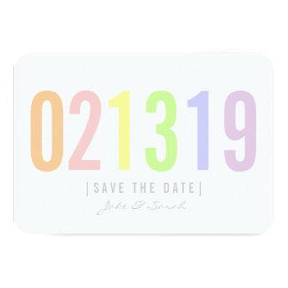 Save the Date Card - Icecream Day 9 Cm X 13 Cm Invitation Card