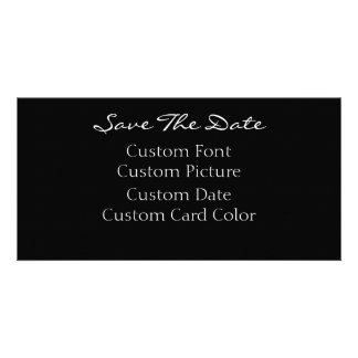 Save The Date Cards (Your Design) Custom Photo Card