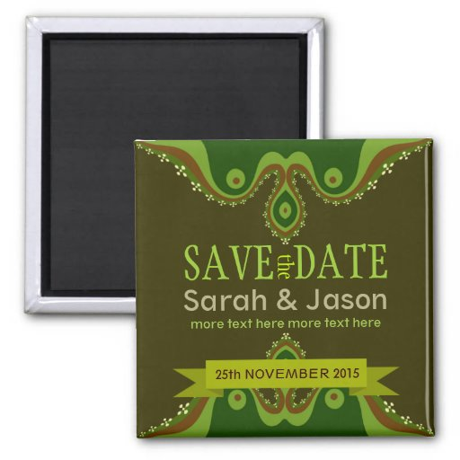 Save the Date Earth Goddess Magnet
