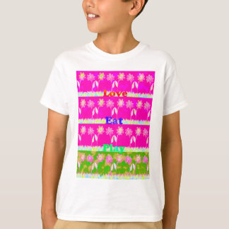 Save the date Eat Love and PLay.png Tee Shirts