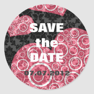 Save the Date Envelope Seal Stickers
