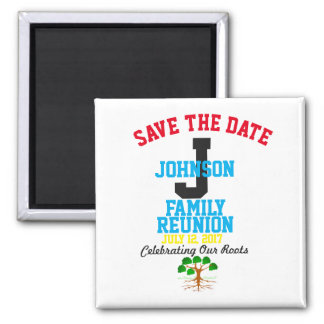 Save The Date Family Reunion Any Name, Any Date - Magnet