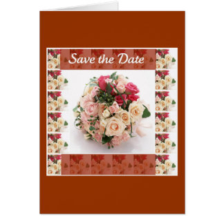 Save the date- Floral Card