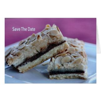 Save The Date - Food Card