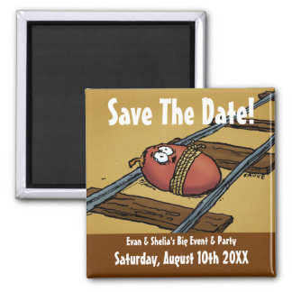Save the Date Funny Announcement Magnet
