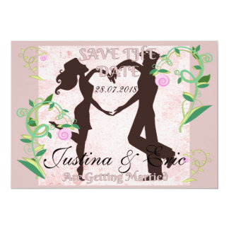 Save The Date Getting Married Announcement Card