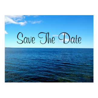 Save The Date Horizon Postcard