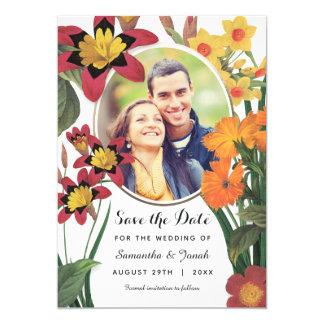 Save the Date Invitations | Botanic | Photo
