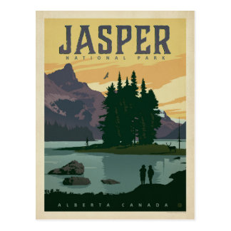 Save the Date | Jasper National Park, Alberta Postcard