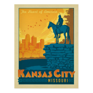 Save the Date   Kansas City, MO Postcard