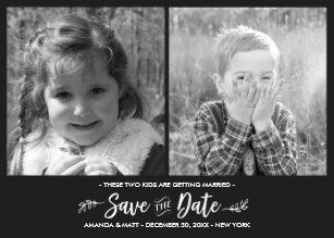 kid photo save the date gifts on zazzle au