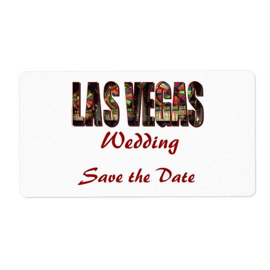 Save the Date/Las Vegas Wedding