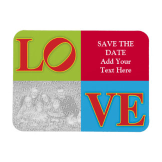 Save the Date LOVE Philly Magnet