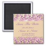 Save the date magnet invitations - customisable