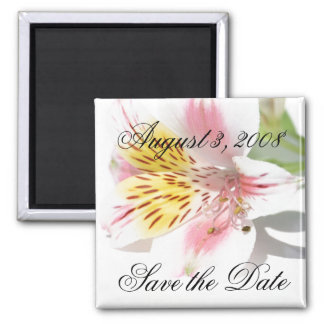 Save the Date Magnet Lilly