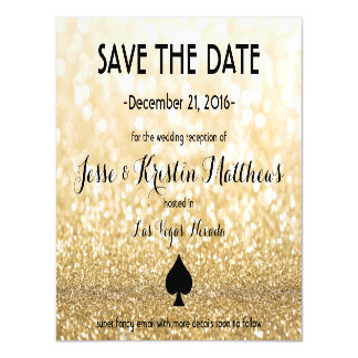 Save the Date Magnetic Card
