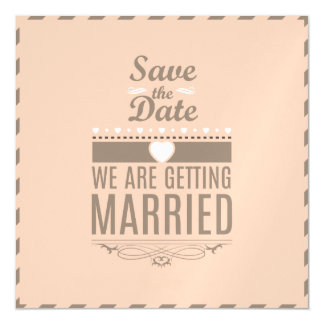 Save the Date Magnets - Customize It! Magnetic Invitations