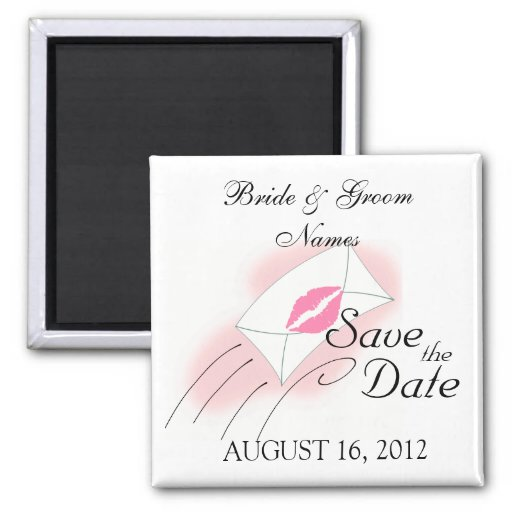 Save the Date Magnets Wedding Invitation Clipart Magnet