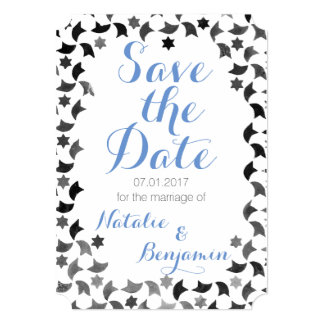 Save the Date Mailer | Addresses on Back Card