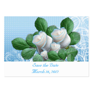Save the Date malibu Pack Of Chubby Business Cards