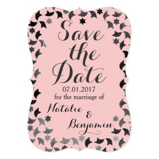 Save the Date | Mosaic Invitation | Custom Colour