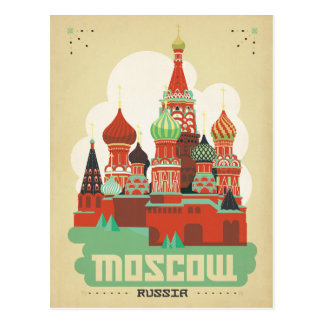 Save the Date | Moscow, Russia Postcard