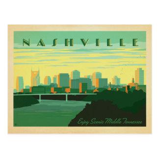 Save the Date | Nashville, TN - Skyline Postcard