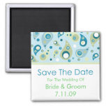 Save The Date - Paisley Magnets