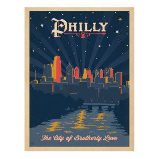 Save the Date | Philadelphia, PA Postcard