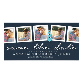 Save the Date Photo Collage Annoucements| WEDDINGS Personalized Photo Card