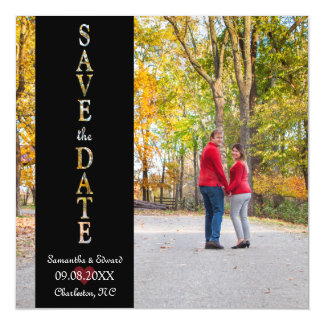 Save the Date Photo Magnet Magnetic Invitations