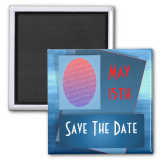 Save The Date Photo Reminder Magnet