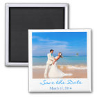 Save the Date  Photo Style Magnet