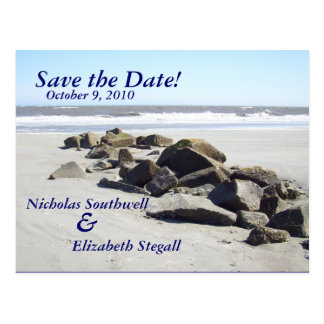 Save the Date!, Postcard